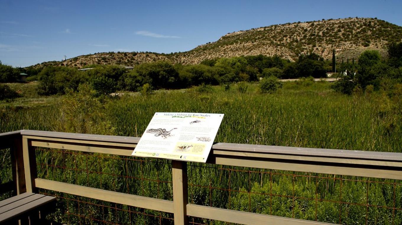 Interpretive signage provided by Northern Arizona Audubon Society. – Dennis Tomko