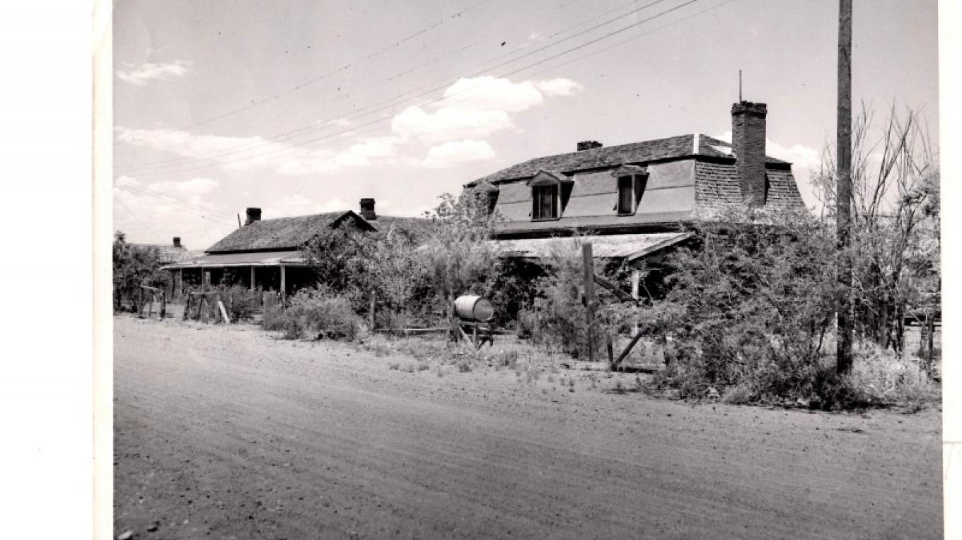 Historic Officer's Row prior to 1970 – FVSHP
