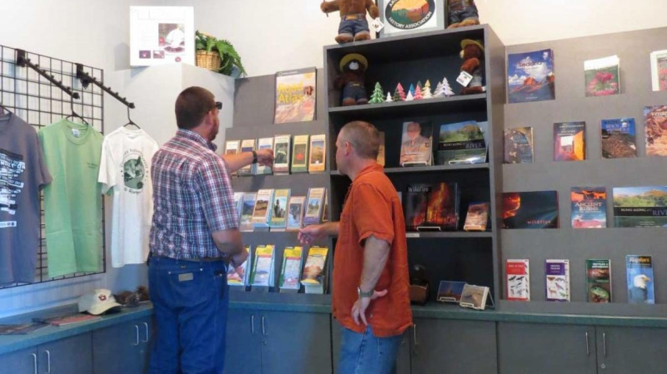 Sales from the proceeds of this gift shop go to the Arizona Natural History Association. – USDA Forest Service