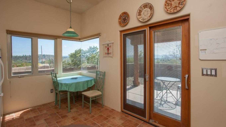 Kitchen dining and patio door. – Nina Hubbard