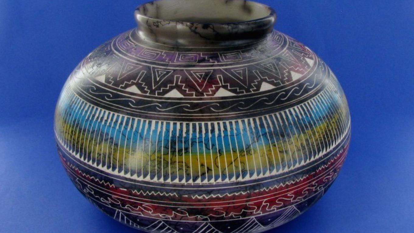 Awesome collection of Navajo horsehair pottery! – Pam Freeman