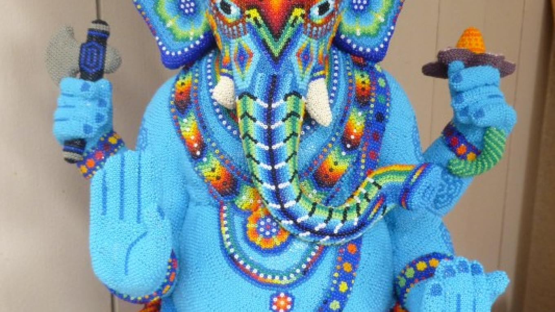 """Sacred Blue Ganesh"" by Joshua Frager"