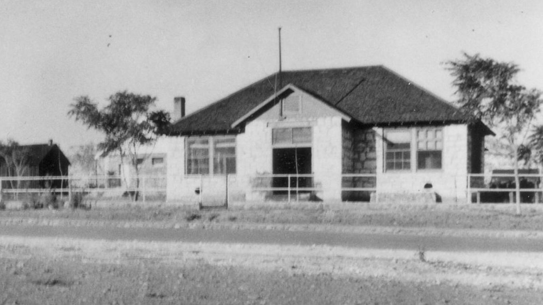 Camp Verde Grammar School, 1914