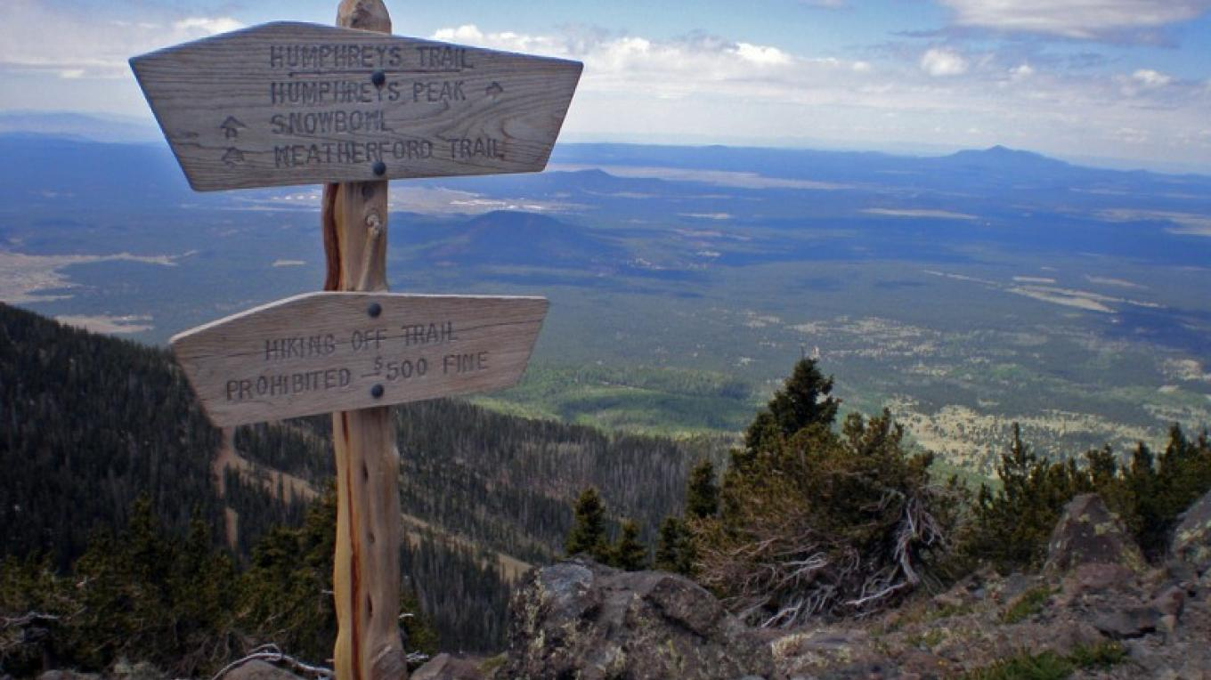 High up on the Humphreys Trail. Flagstaff Ranger District. – Brady Smith, Coconino National Forest Employee