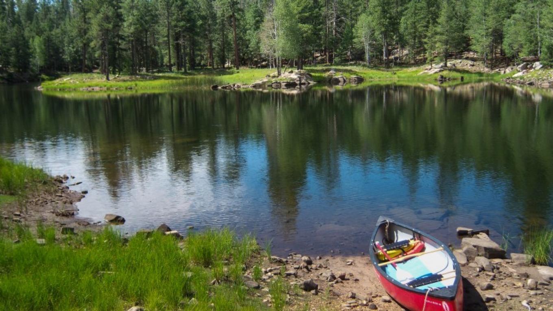 Knoll Lake. Mogollon Rim Ranger District. – Deborah Soltesz, Coconino National Forest Employee