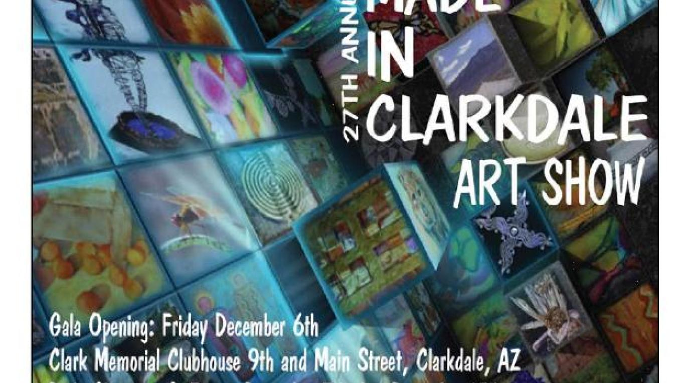 Made In Clarkdale Art Show 2013 Brochure Cover