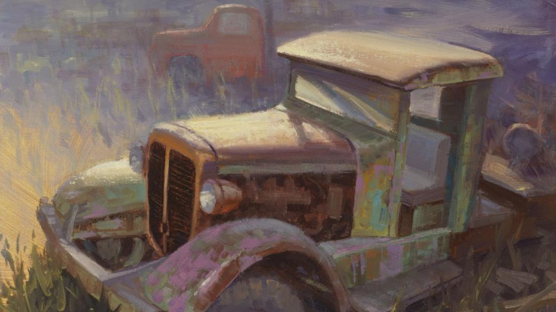1933 Corbitt 4x4 - oil painting by Cody DeLong – Cody DeLong