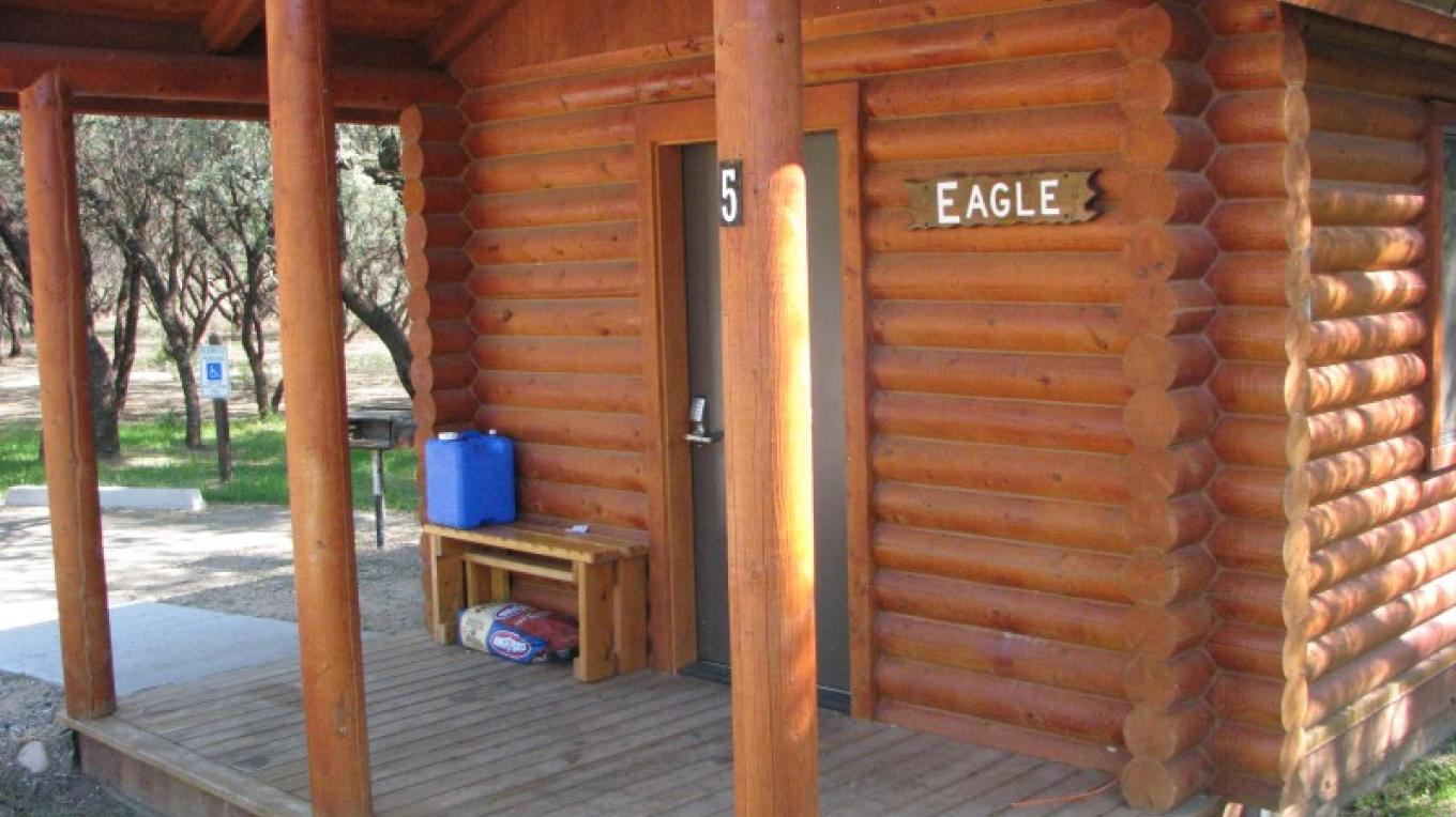 Eight camping cabins are available for rental with online reservations available. – Arizona State Parks