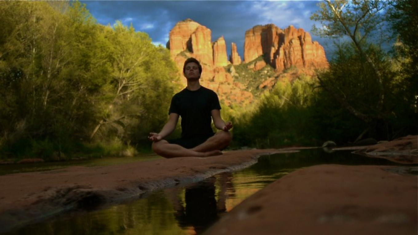 Meditate among the Red Rocks