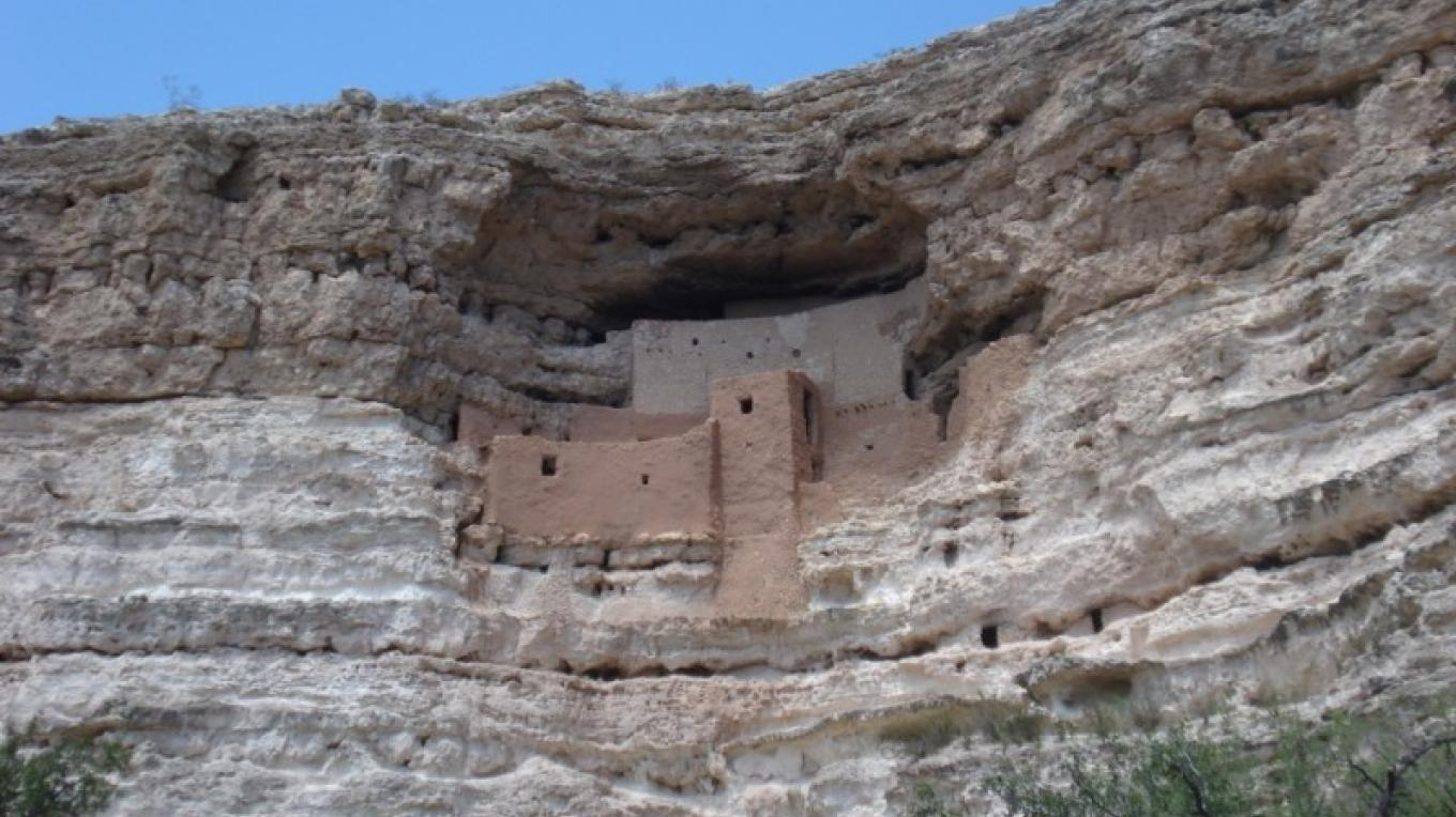 One of the area's largest cliff dwellings. – Jim Reich