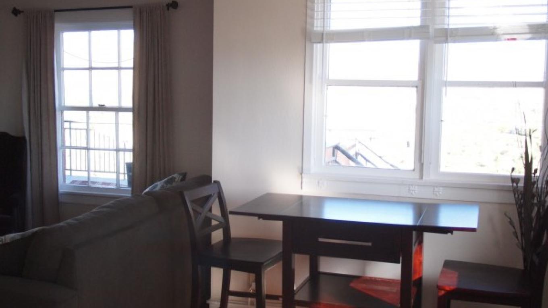 Dining area in #208 – Daniel Conlin