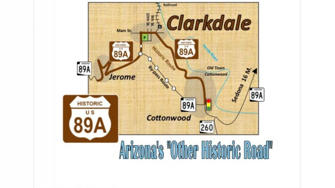 Historic Route 89A - Map – D.M.