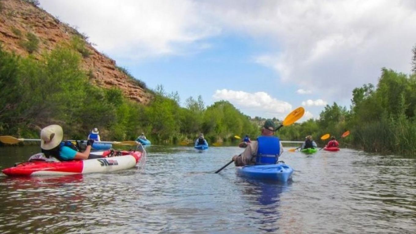 Floating the Verde River at TAPCO RAP – Doug Von Gausig