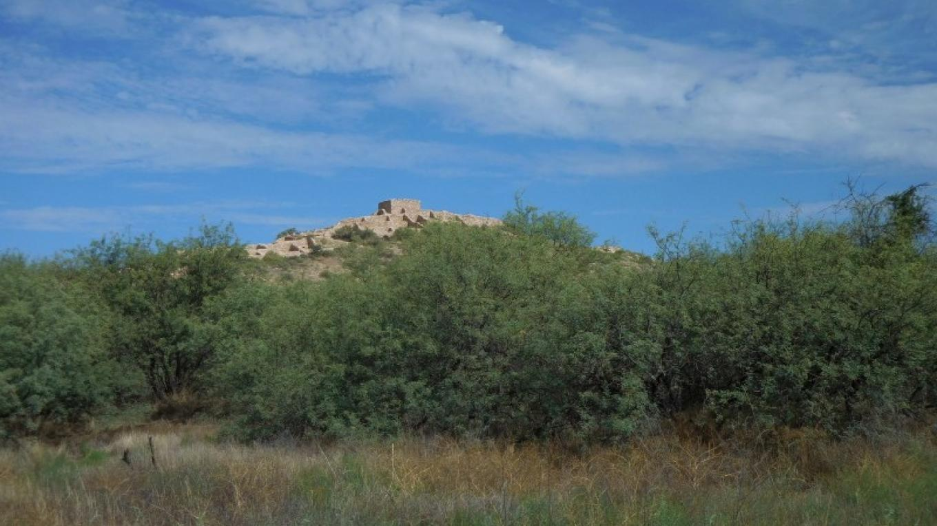 View of Tuzigoot National Monument looking towards the northwest from Tavasci Marsh area – NPS photo