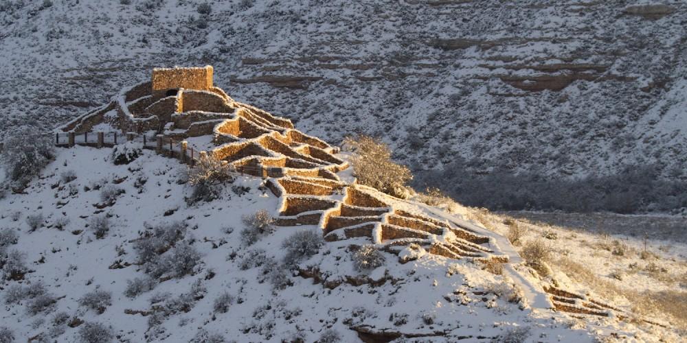 Tuzigoot National Monument. A.D. 1000-1400. – Doug Von Gausig