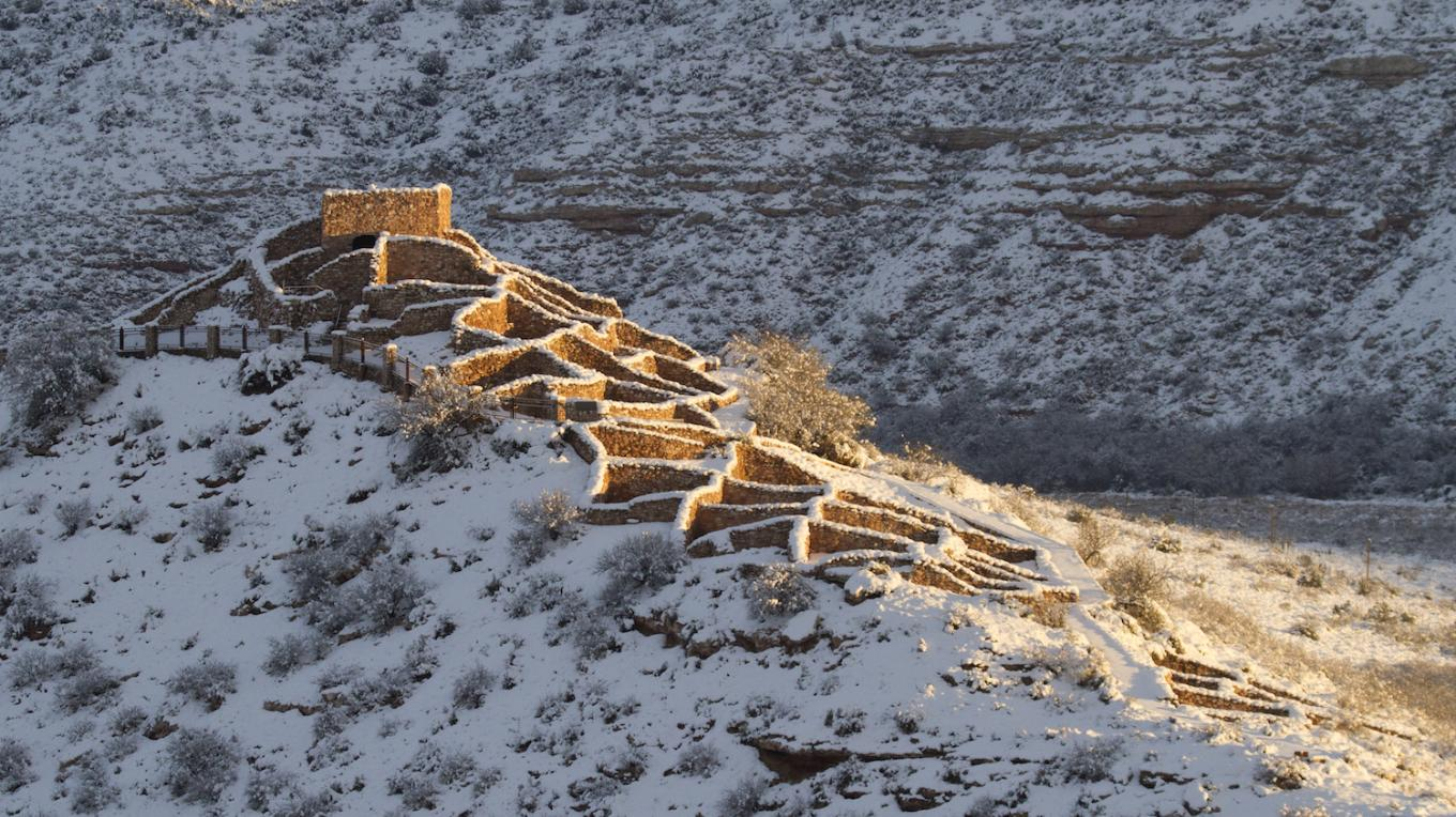 Tuzigoot National Monument. A.D. 1000-1400. – Doug Von Gausig