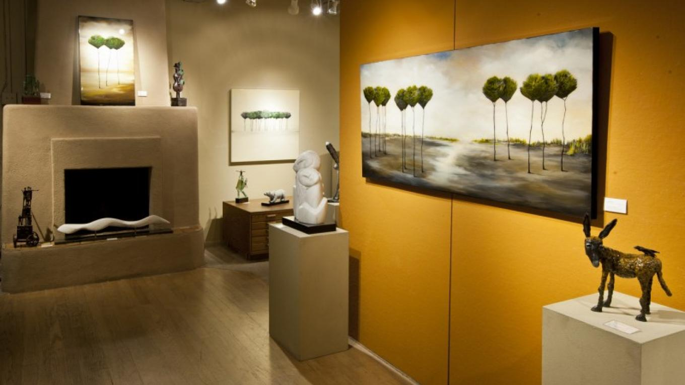 Artworks by Anna Pales, Chris Deverill, Kathleen Caricof and more await visitors. – courtesy Lanning Gallery or Michael Thompson