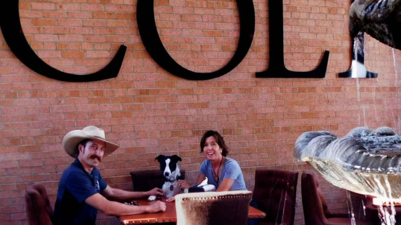 Large Dog friendly patio – Sedona Pet Monthly