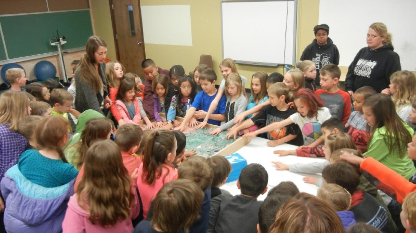 Learning about the Oak Creek watershed with terrain model – Marie McCormick