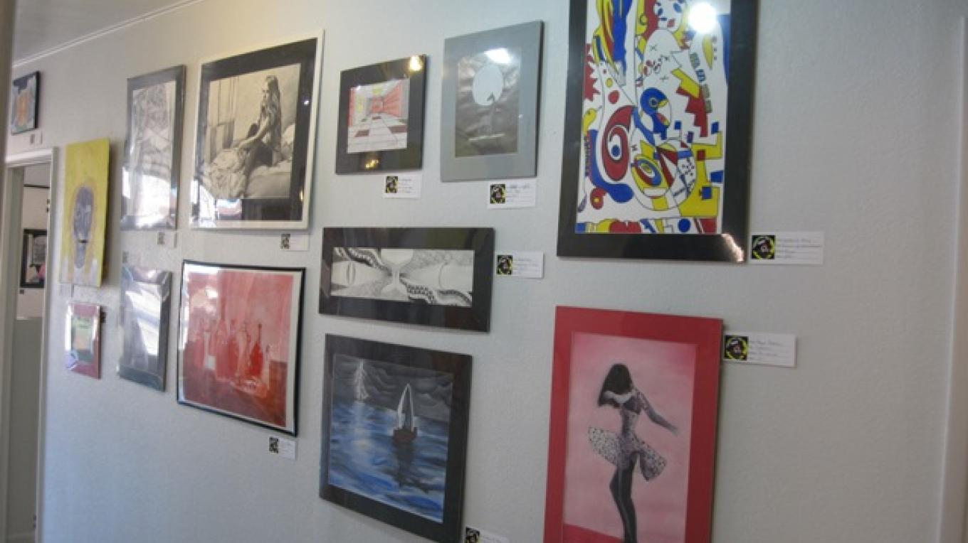 Student Art Show 2014 at the Corner Galleyry – Robyn Prud'homme-Bauer