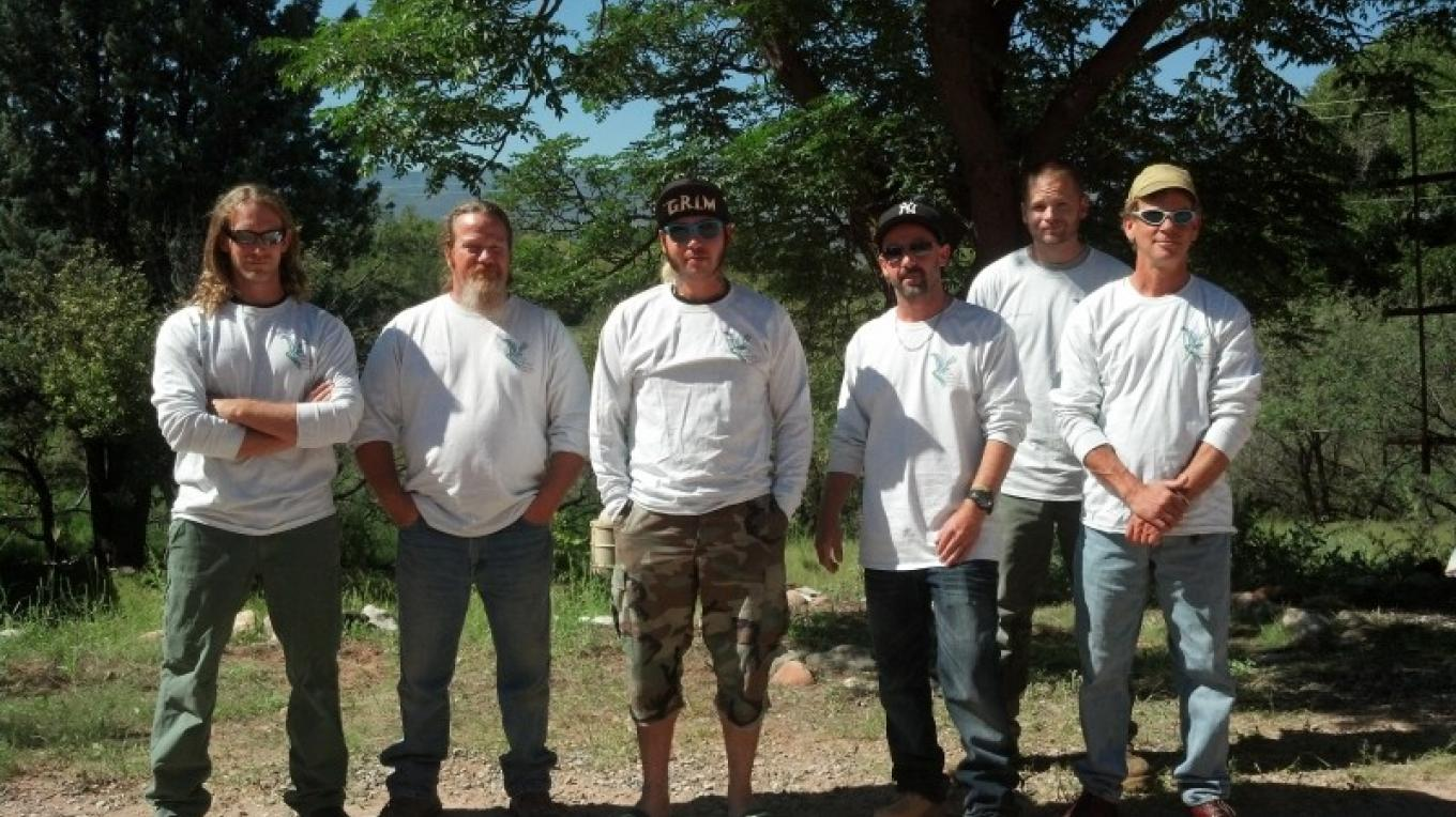 The Vetraplex Crew getting ready to start another season of removing invasive plants from the Verde River and its tributaries. – Laura Jones