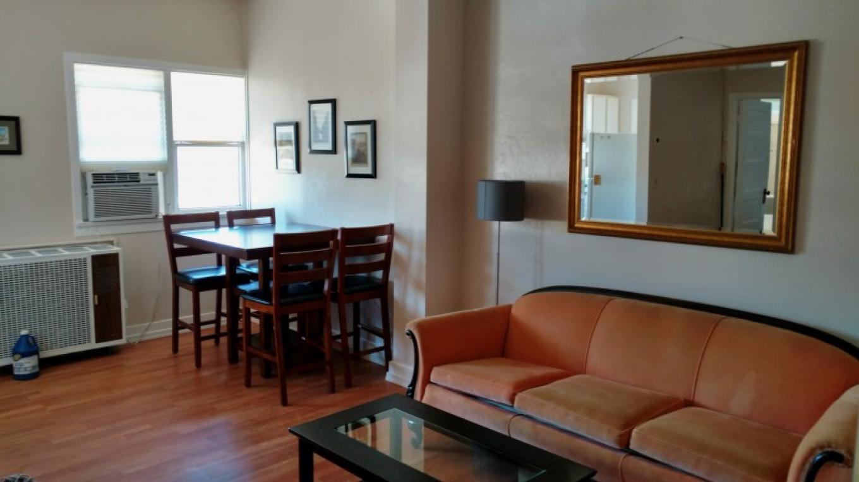 Living area in #205 – Daniel Conlin