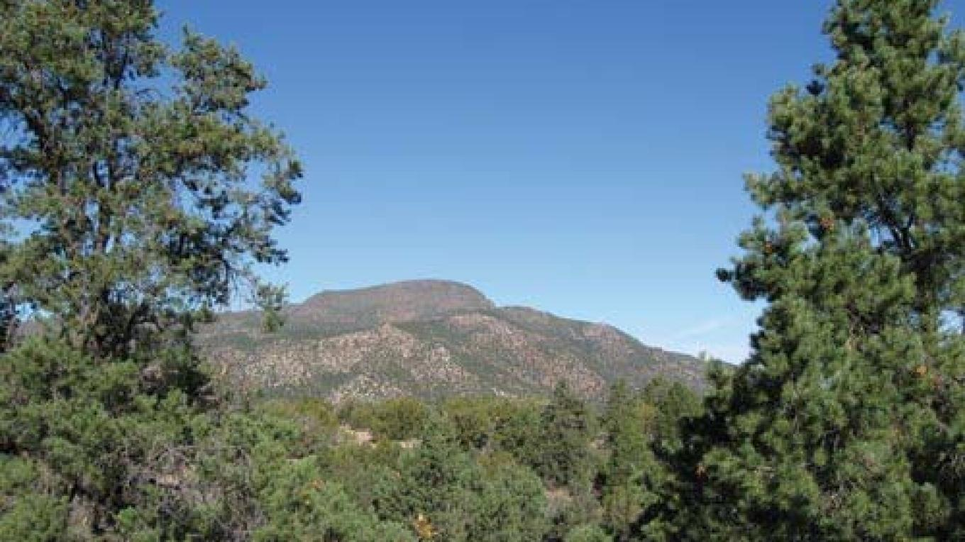 Squaw Peak south of Camp Verde also serves as the northern terminus of Cedar Bench Wilderness Area. – Steve Ayers
