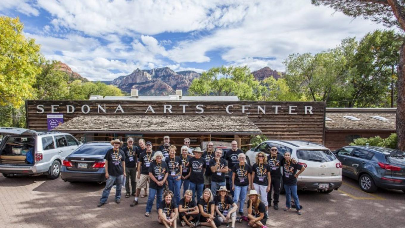 Sedona Plein Air Festival at Sedona Arts Center – Kelli Klymenko
