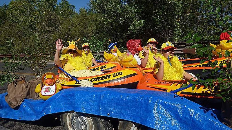 River Full of Ducks Float – T. B. Thorson