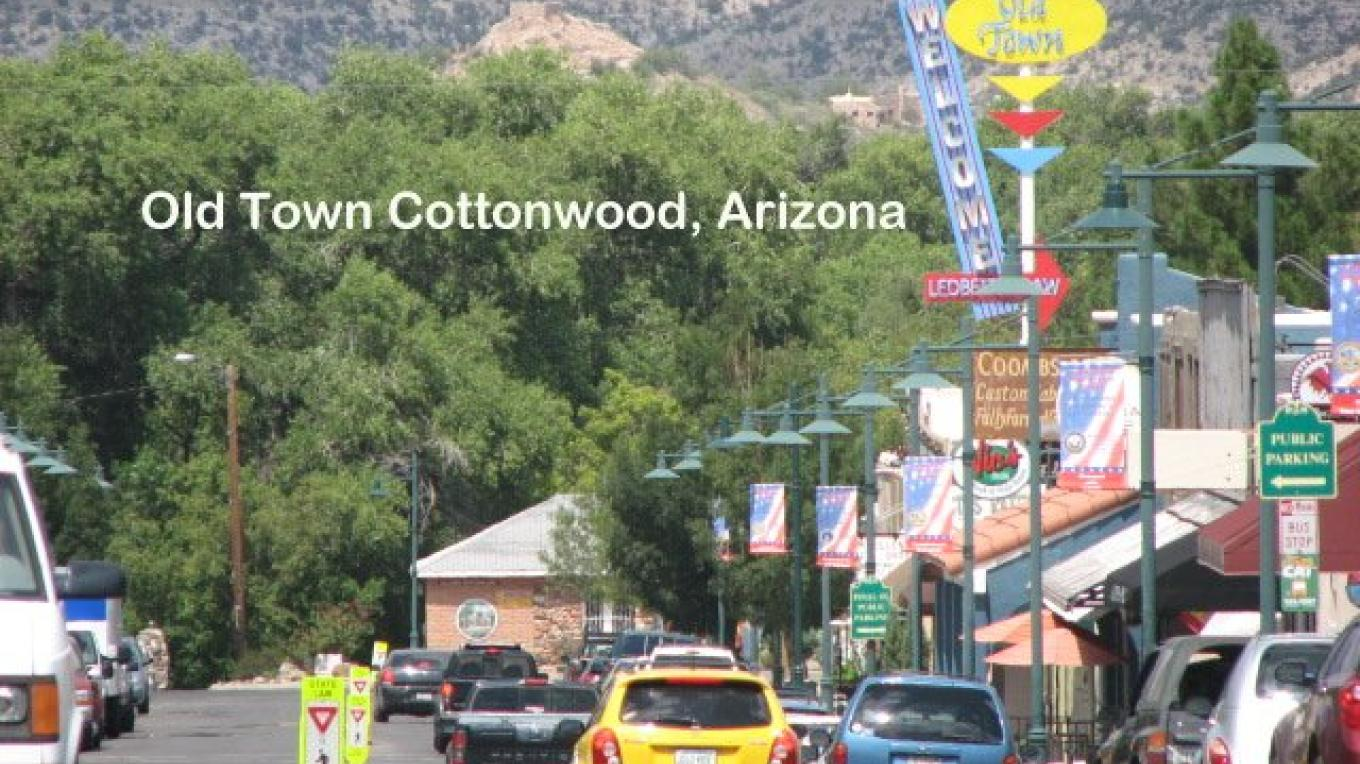 Old Town Cottonwood, Arizona – Karen Leff