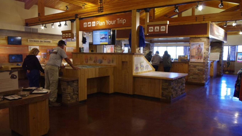 Interpretive Displays inside the Red Rock Ranger District Visitor Center. – Nina Hubbard, Coconino National Forest Employee