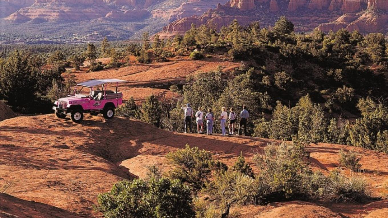 Pink Jeep Tours – Property of Sedona Chamber