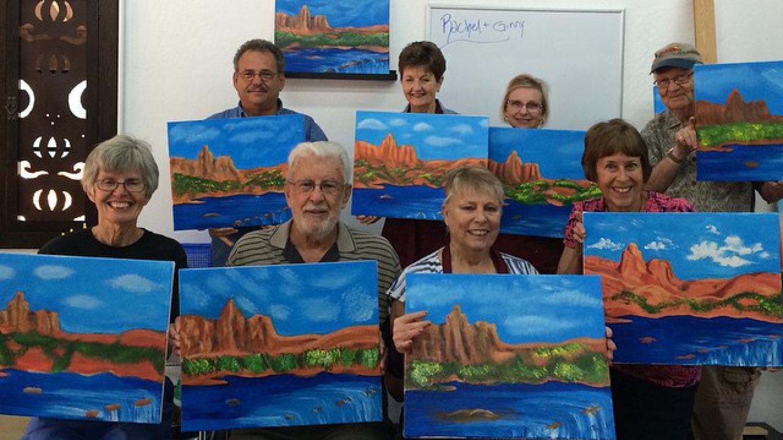 Red Rocks Painting Class 2 – Tony Schmitt
