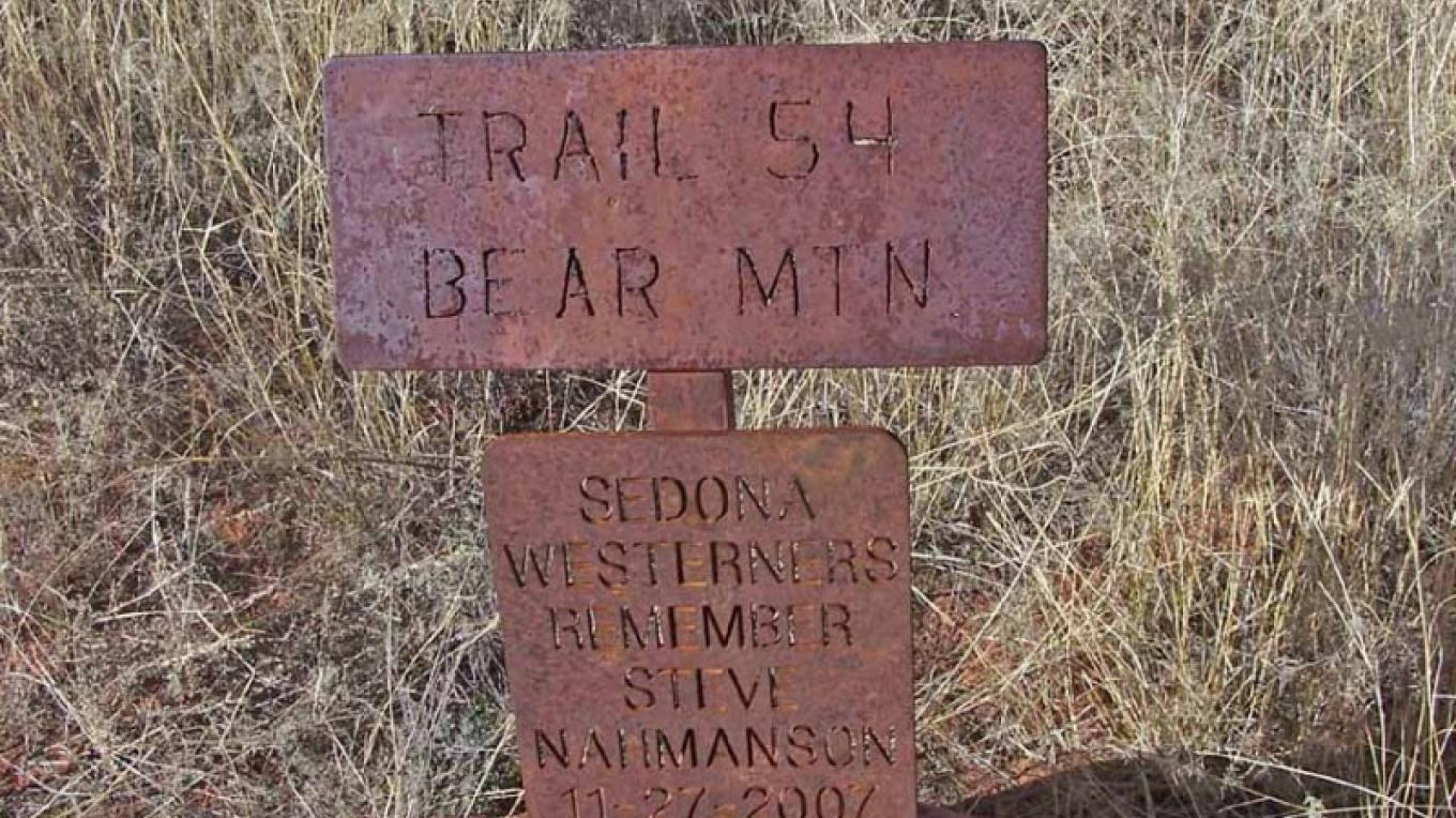 Trail sign – William Bohan