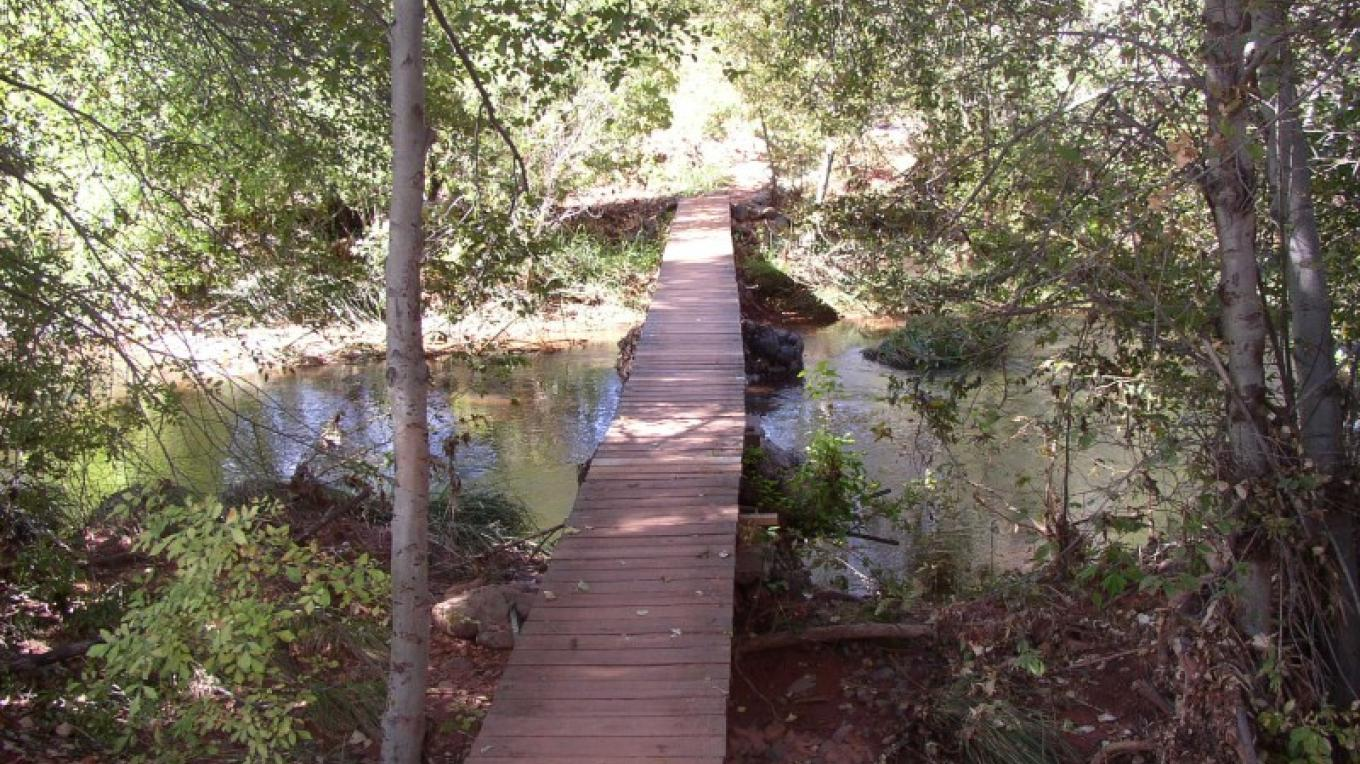 The riparian area include Oak Creek at Red Rock State Park. – Arizona State Parks