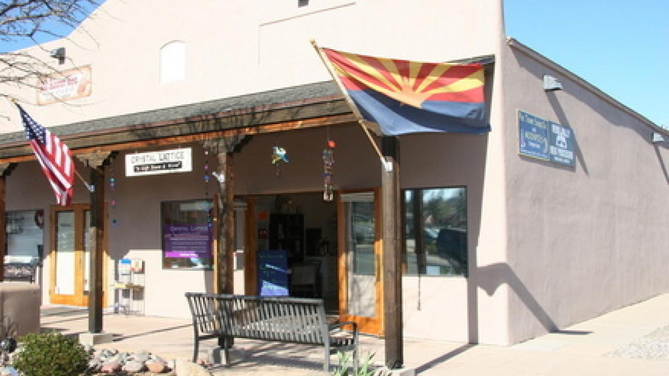 Front of store facing Main Street, Camp Verde – Robert & Diane Martin