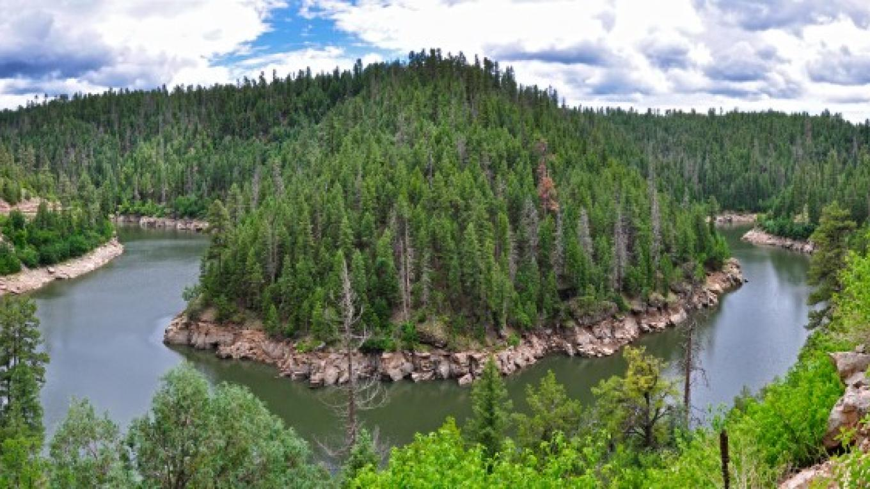 Blue Ridge Reservoir (aka C.C. Cragin). Mogollon Rim Ranger District. – Brady Smith, Coconino National Forest Employee