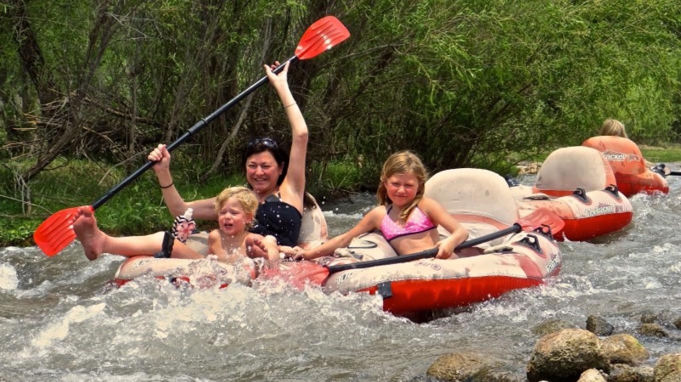 Tube Trackers are a lot of fun for families of all ages. This activity is a summertime treat. – Al Comello