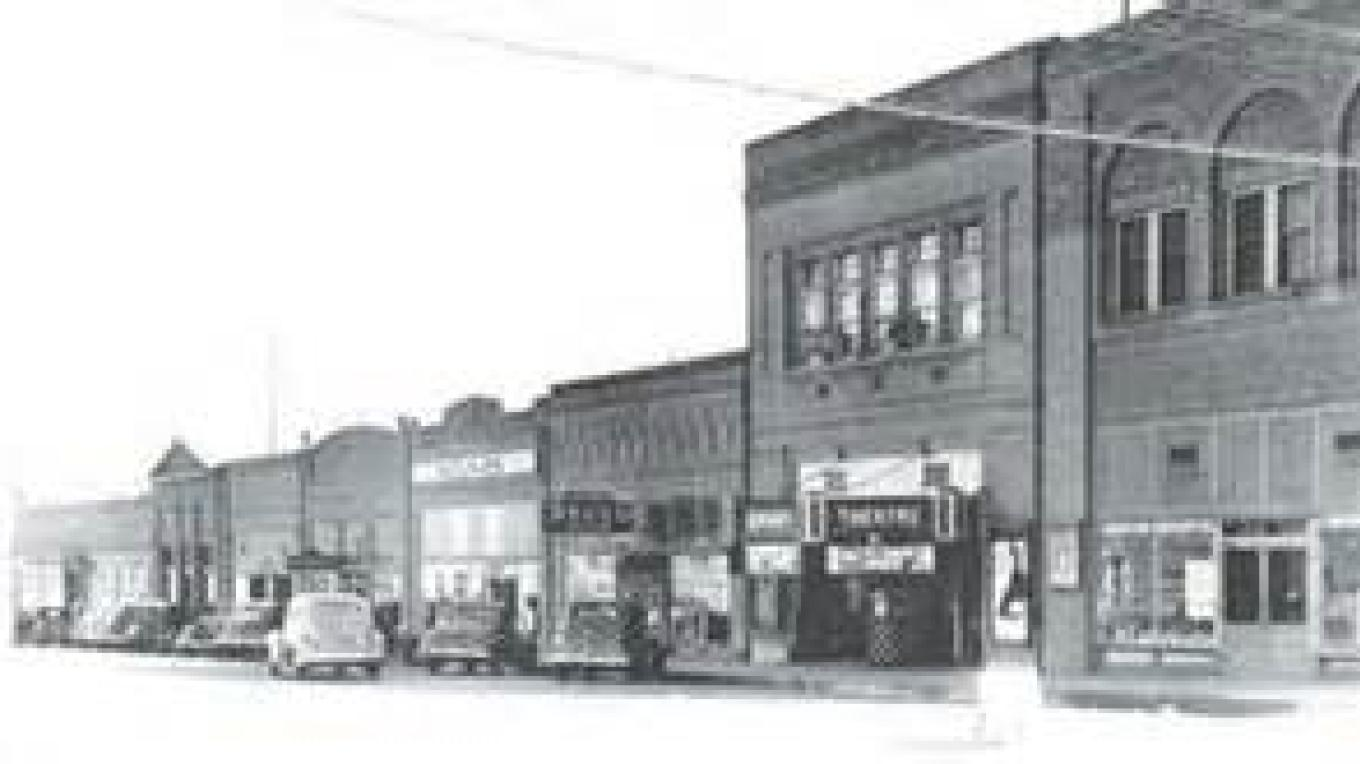 Business District circa 1917