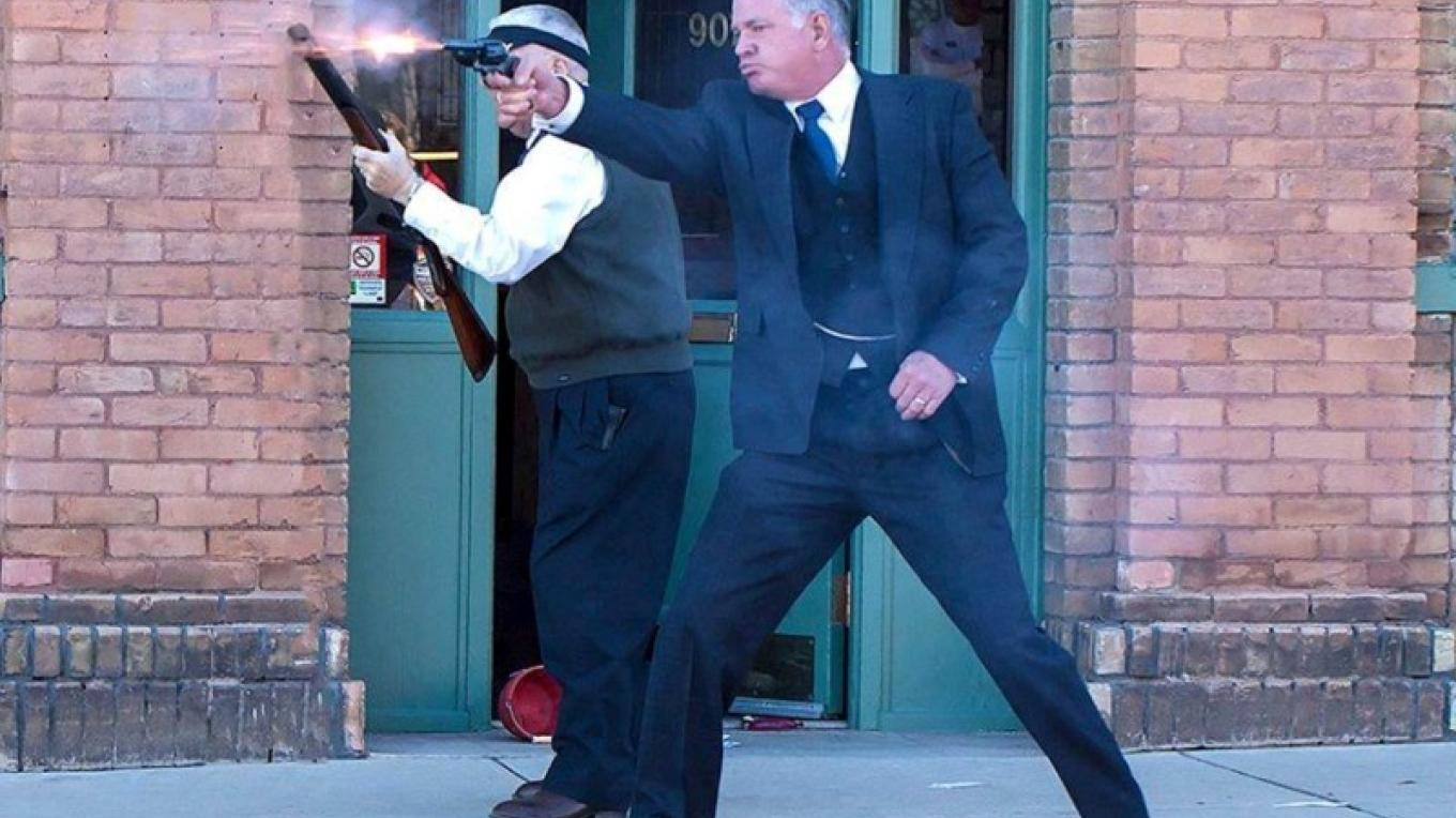 Annual Bank Robbery Reenactment – Doug Von Gausig