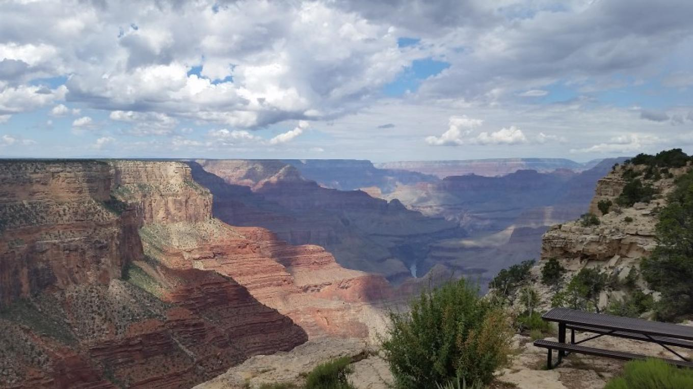 Grand Canyon, short drive to the north.