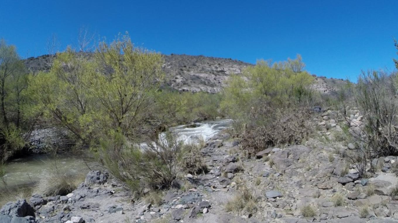 Pre-Falls Rapid on Verde River Wild & Scenic Stretch – Susan Culp