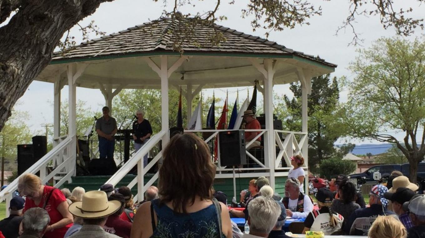 Welcome Home Vietnam Veterans at Town Park – Jodie Filardo