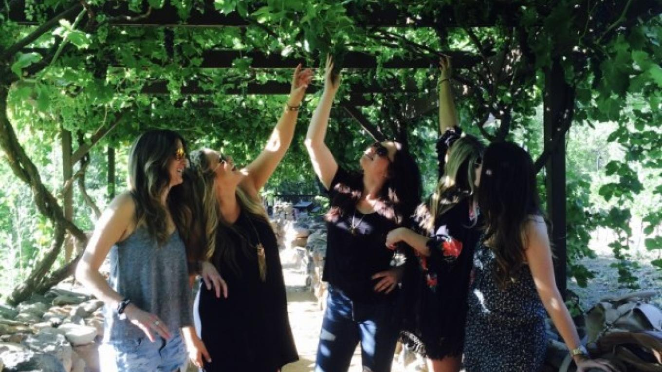 Bachelorette party at Page Springs Cellars – Jim Reich