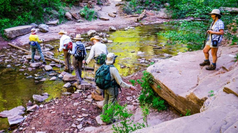 Typical creek crossing – William Bohan