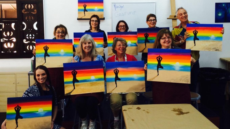 True Serenity Sunset Painting Class – Tony Schmitt