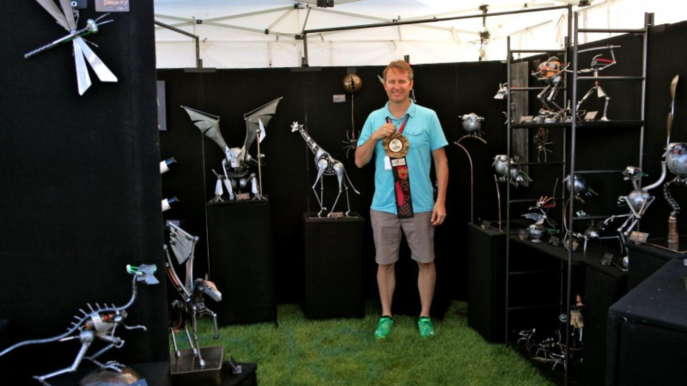 Adam Holman Best of Show 2014 – Sedona Arts Festival