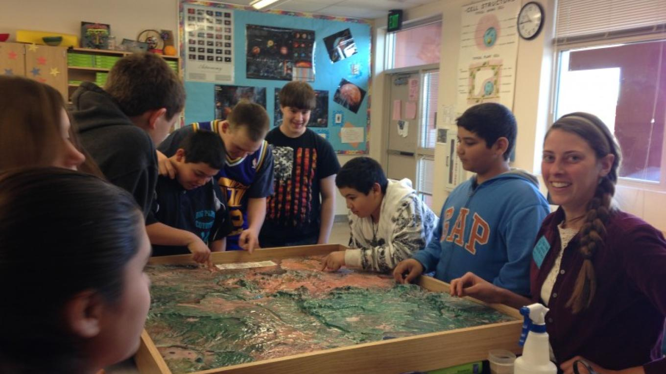 Lessons about Oak Creek watershed with terrain model – Barry Allan