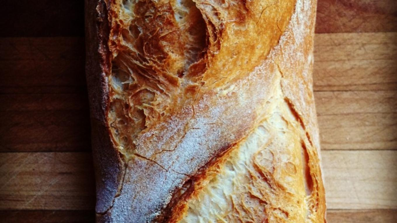 French Baguette – Photograph by: Beach Lake Bakery