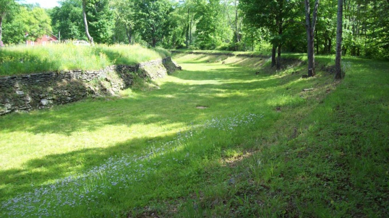D & H Canal bed – Wayne County Historical Society